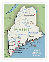 Stephen King Map Of Maine.Home